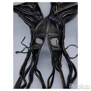 Other - Hand-Molded Leather Tendrils Mask